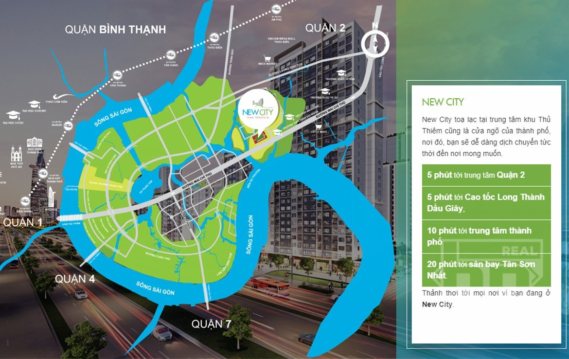 New City Thu Thiem Project